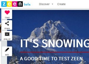 Testing Zeen