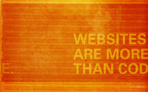 Websites are more than code