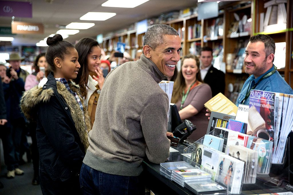 president obama reads books