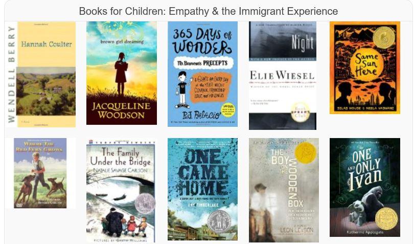 Kids books widget